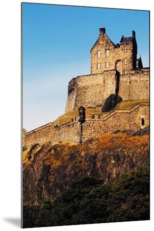 Edinburgh Castle, Scotland, United Kingdom, 12th-16th Century--Mounted Giclee Print