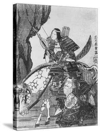 Jingo, Empress of Japan--Stretched Canvas Print