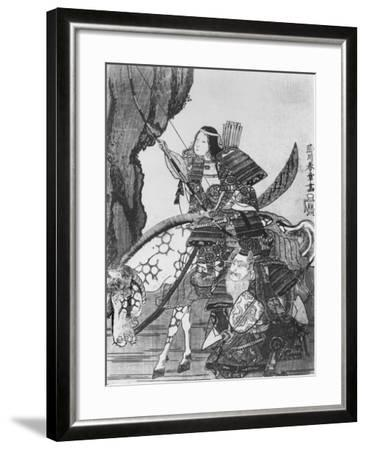 Jingo, Empress of Japan--Framed Giclee Print