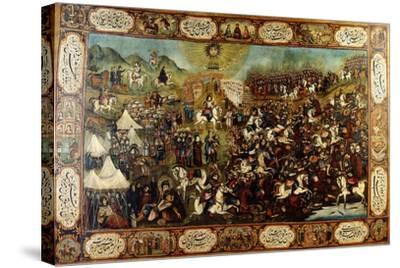 The Martyrdom of Huseyn, C. 1860-70--Stretched Canvas Print