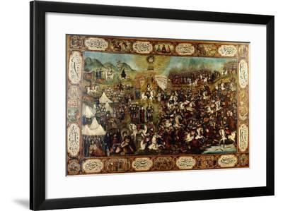 The Martyrdom of Huseyn, C. 1860-70--Framed Giclee Print