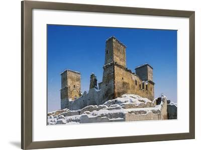 Castle of Diosgyor, Miskolc, Hungary, 14th-15th Century--Framed Giclee Print