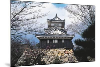 Hamamatsu Castle, Japan, 17th Century--Mounted Giclee Print