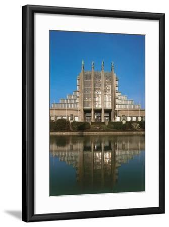 Buildings at the Waterfront, Brussels, Belgium--Framed Giclee Print