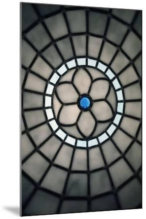 Handmade Stained Glass, Milan, Lombardy, Italy--Mounted Giclee Print