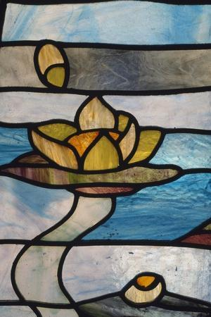 Handcrafted Stained Glass, Rome, Lazio, Italy, Detail--Framed Giclee Print