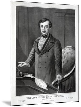 The Liberator of Ireland, 1873--Mounted Giclee Print