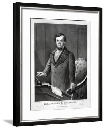 The Liberator of Ireland, 1873--Framed Giclee Print