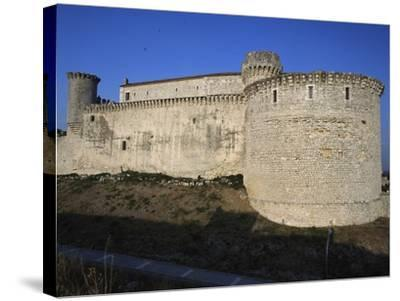 Cuellar Castle, Castile and Leon, Spain, 13th-16th Century--Stretched Canvas Print