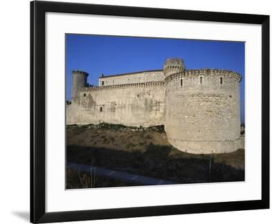 Cuellar Castle, Castile and Leon, Spain, 13th-16th Century--Framed Giclee Print