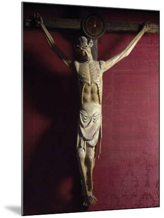 Wooden Crucifix, Sulmona Cathedral, Italy, Detail--Mounted Giclee Print