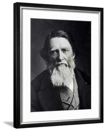 John Ruskin, 1879--Framed Giclee Print