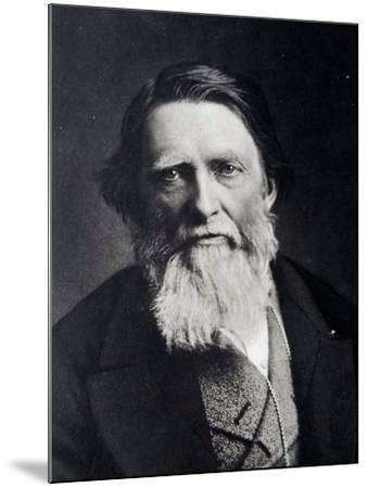 John Ruskin, 1879--Mounted Giclee Print