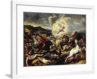 Destruction of the Armies of Sennacherib, Late 16th-Early 17th Century--Framed Giclee Print
