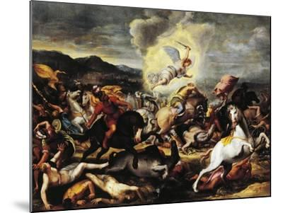 Destruction of the Armies of Sennacherib, Late 16th-Early 17th Century--Mounted Giclee Print