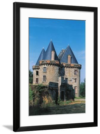 Chateau of Landal, Founded in 12th Century, Broualan, Brittany, France--Framed Photographic Print