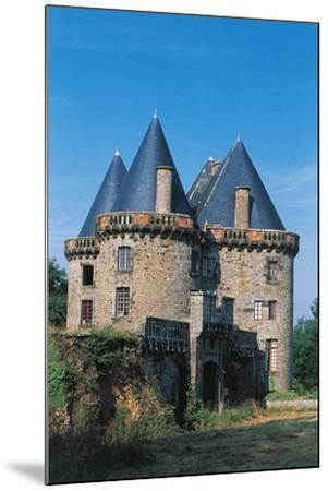 Chateau of Landal, Founded in 12th Century, Broualan, Brittany, France--Mounted Photographic Print