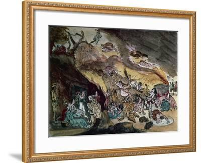 Witches' Sabbath, Drawing--Framed Giclee Print