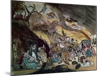 Witches' Sabbath, Drawing--Mounted Giclee Print
