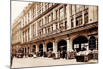Shipping Department, Le Bon Marché, Paris, 1900--Mounted Photographic Print