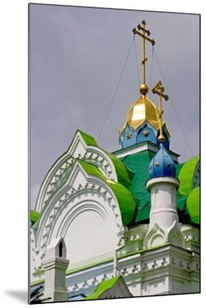 The Domes of the Sv Ekaterininskaya Church, Feodosia, Crimea, Ukraine--Mounted Photographic Print