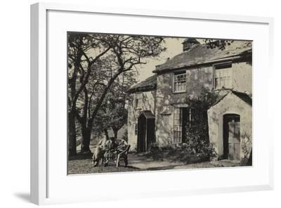 Elleray Cottage, Windermere, UK, Late 19th Century--Framed Photographic Print