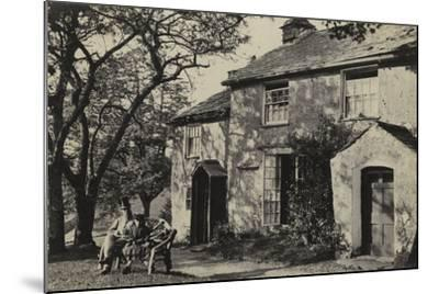 Elleray Cottage, Windermere, UK, Late 19th Century--Mounted Photographic Print