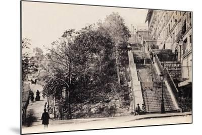 Rue Muller, Montmartre, Paris, 1890--Mounted Photographic Print
