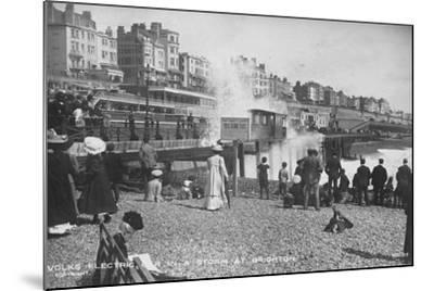 Volk's Electric Railway, Brighton--Mounted Photographic Print