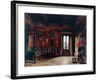 Interior, Arturo Ferrari (1861-1932)--Framed Giclee Print