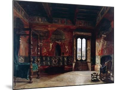 Interior, Arturo Ferrari (1861-1932)--Mounted Giclee Print