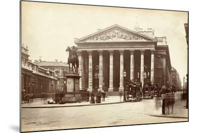 Royal Exchange, London, C.1885--Mounted Photographic Print