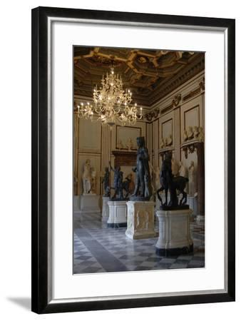 Capitoline Museums. Hall of the Philosophers. Rome. Italy--Framed Photographic Print