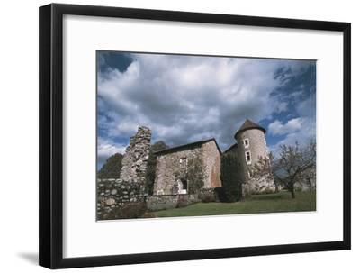 Chateau Bayard, 15th Century, Pontcharra, Rhone-Alpes, France--Framed Photographic Print