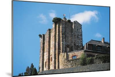 Dungeon of Chateau of Turenne, 14th Century, Limousin, France--Mounted Photographic Print