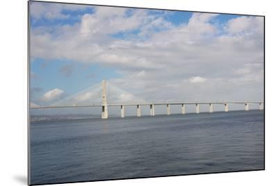 Portugal, Lisbon, the Vasco Da Gama Bridge, Built in 1995--Mounted Photographic Print