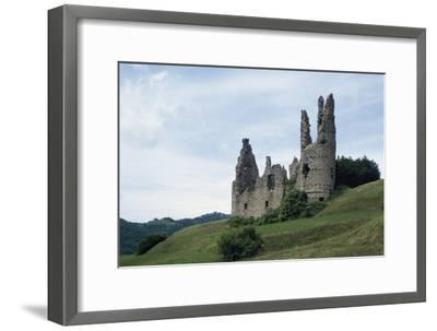 Ruins of Spinola Castle, 11th Century, Montessoro, Liguria, Italy--Framed Photographic Print