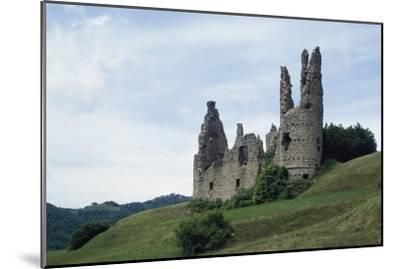 Ruins of Spinola Castle, 11th Century, Montessoro, Liguria, Italy--Mounted Photographic Print
