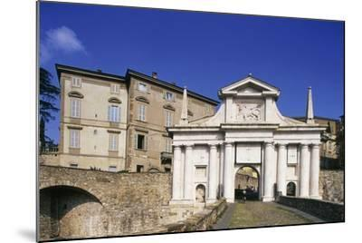 St James Gate, 16th Century, Bergamo, Upper City, Lombardy, Italy--Mounted Photographic Print