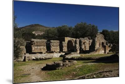 Hadrian's Villa, the Greek and Latin Libraries, 2nd Century, Italy--Mounted Photographic Print