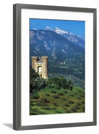 Aymavilles Castle, 12th-14th Century, Aosta Valley, Italy--Framed Photographic Print