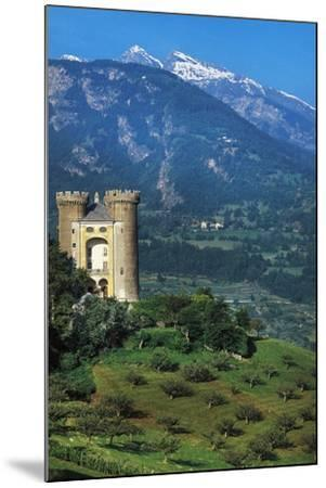 Aymavilles Castle, 12th-14th Century, Aosta Valley, Italy--Mounted Photographic Print