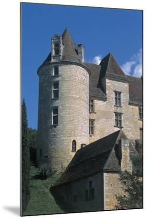 Low Angle View of a Castle, Panassou Castle, Aquitaine, France--Mounted Photographic Print