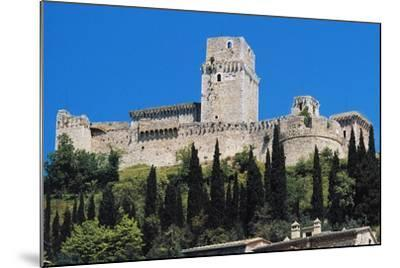 Maggiore Fortress, Medieval Origin, Assisi, Umbria, Italy--Mounted Photographic Print