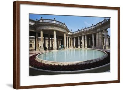 Tettuccio Thermal Pool, Montecatini Terme, Tuscany, Italy--Framed Photographic Print