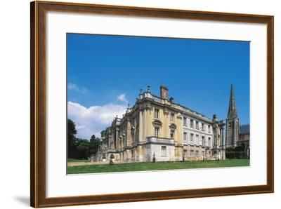 Side View of Chateau of Versigny, 1640-1690, Picardy, France--Framed Photographic Print