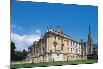 Side View of Chateau of Versigny, 1640-1690, Picardy, France--Mounted Photographic Print