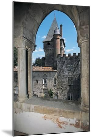 Gate of a Castle, Montespieu Castle, Midi-Pyrenees, France--Mounted Photographic Print