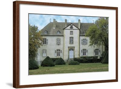 Facade of a Castle, Chateau Du Chassan, Auvergne, France--Framed Photographic Print
