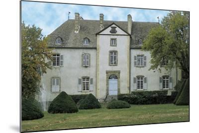 Facade of a Castle, Chateau Du Chassan, Auvergne, France--Mounted Photographic Print